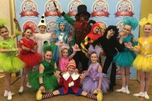 Детский хореографический коллектив «Веселинки» стал лауреатом Международного конкурса.