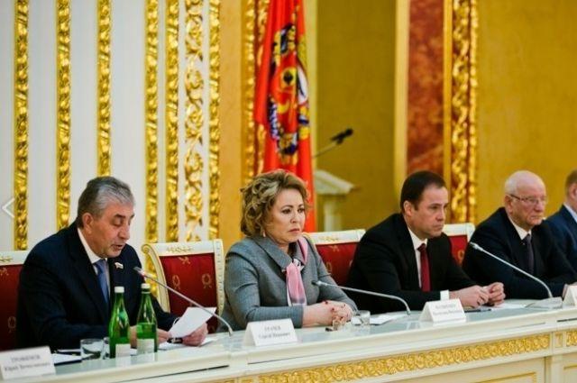 Валентина Матвиенко поздравила Заксобр Оренбуржья с юбилеем