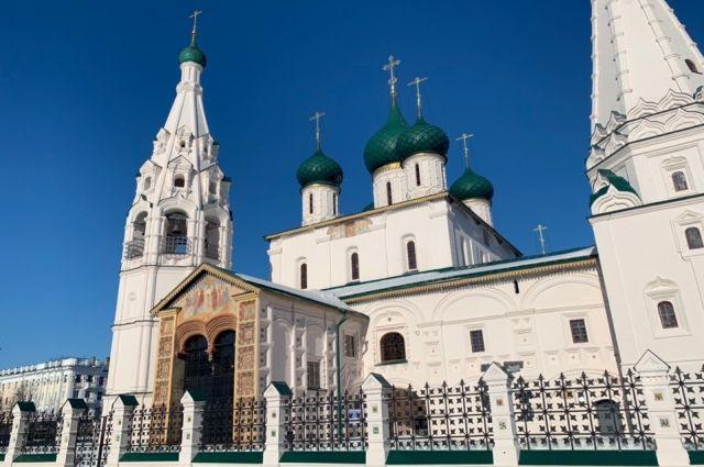 Церковь Ильи Пророка – истинное украшение Ярославля, но мало кто помнит, что реставрирована она была на пожертвования миллионера Ивана Вахрамеева.