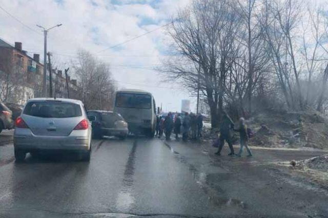 В Сарапуле водитель автобуса сбил 10-летнюю девочку