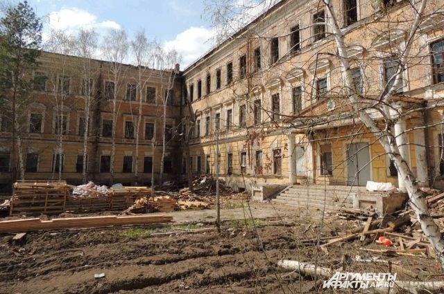 Валентину Матвиенко попросили помочь сохранить здание «летки» в Оренбурге
