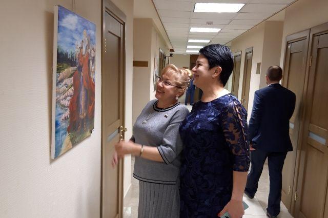 Депутат Госдумы Светлана Савченко и генеральный директор