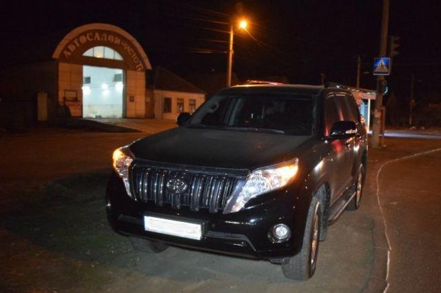 В Николаеве водитель авто из-за царапины устроил погоню за микроавтобусом