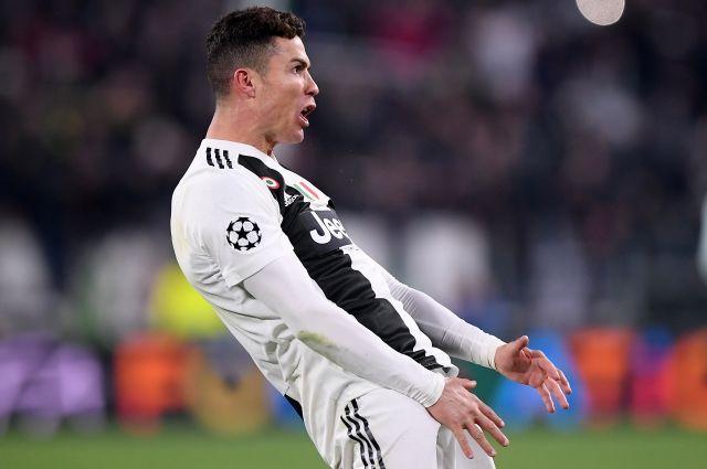 ВУЕФА приняли решение понеприличному жесту Роналду вматче с«Атлетико»
