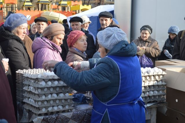 В Тарко-Сале развернулась ярмарка тюменских аграриев