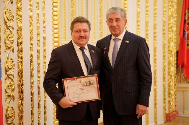 Руководитель Уральской Стали отмечен Почетной грамотой