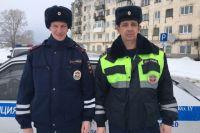 Водитель попросить руководство ГИБДД поощрить инспекторов, которые ему помогли