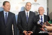 В Оренбурге врио губернатора региона Дениса Паслера представил Полномочный представитель Президента в ПФО Игорь Комаров.