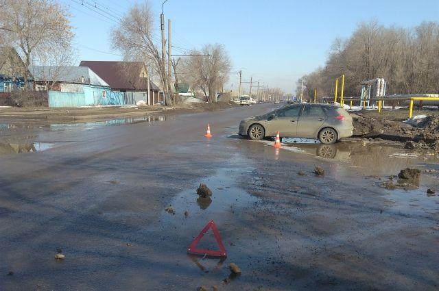 В Оренбурге в ДТП на ул. Амурской пострадали два дошколенка