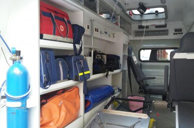 В Оренбурге в ДТП с маршрутным автобусом пострадал водитель «ВАЗ-2107».