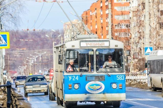 Троллейбусы обкатывают измененный маршрут