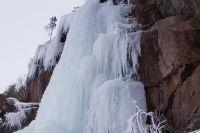 «Сосулька» - так называют скалолазы искусственный ледяной водопад