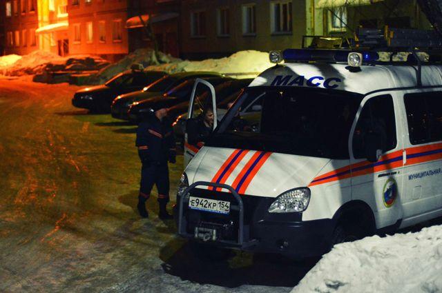 Два молодых человека заблудились в овраге в Новосибирске