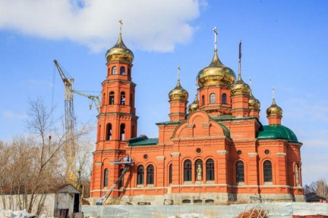 Собор Александра Невского в Барнауле