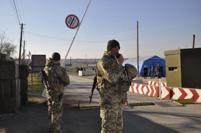 Украина в одностороннем порядке открыла пункт пропуска Золотое на Донбассе