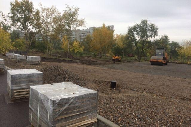 Будет благоустроено 3,7 тыс. кв.метров территории.