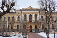 Здание мужской гимназии. Сейчас - одного из корпусов медакадемии.