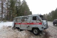 В Удмуртии пьяный водитель протаранил машину скорой помощи