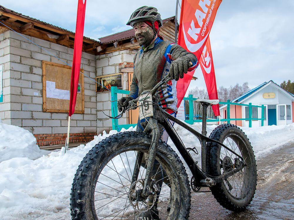 Михаил Елькин (г. Челябинск) на финише