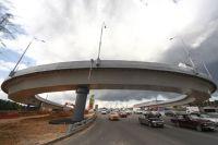 В ходе строительства транспортной развязки на пересечении МКАД с ул. Профсоюзная.