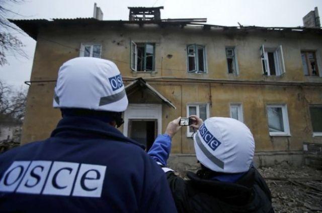 В Донецке во время уроков обстреляли школу, - ОБСЕ