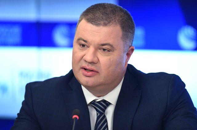Подполковник Службы безопасности Украины (СБУ) Василий Прозоров.