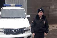 В Сакмарском районе полицейский спас из горящего дома пенсионера