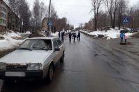 В Воткинске водитель ВАЗа сбил пешехода