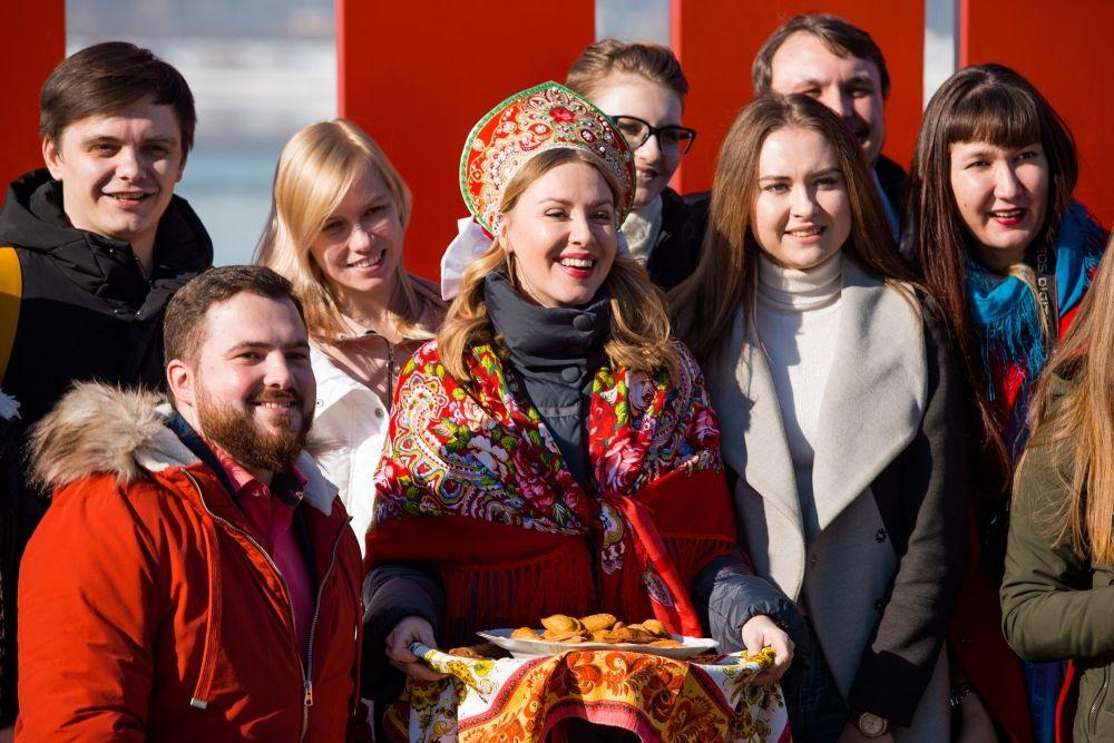 Актриса Мария Скорницкая.
