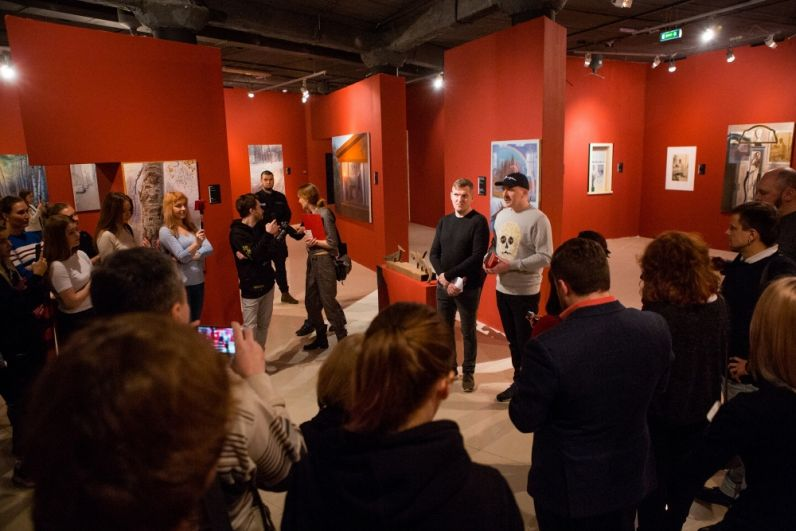 Встреча в музее современного искусства PERMM.