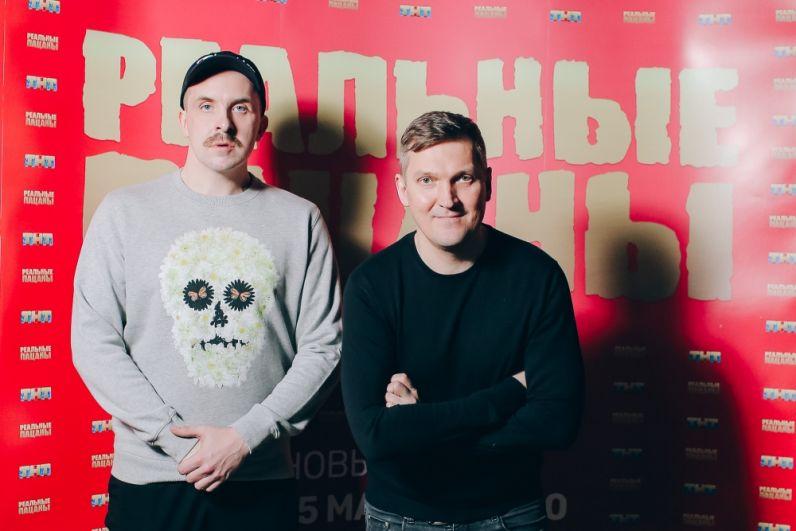 Актёры Алексей Базанов и Игорь Ознобихин.