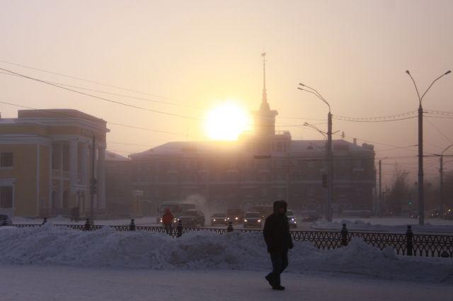 Индекс солнечной активности впервые за несколько месяцев достиг жёлтого уровня.