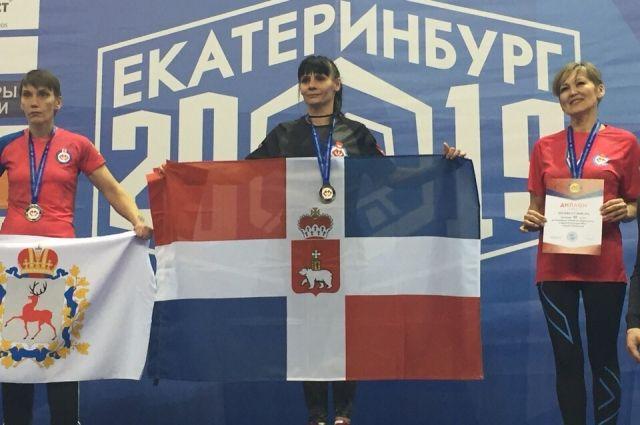 Пермячка показал на левой руке 4-й результат, на правой руке заняла 9 место.