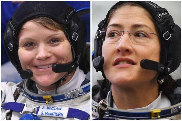 Энн Макклейн и Кристина Кук.