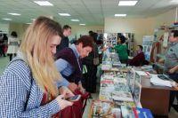 На ярмарке можно было купить издания, которые больше нигде не продаются.