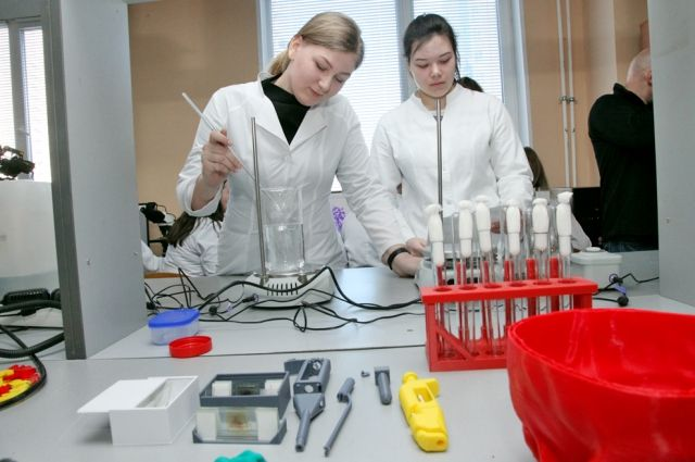 В молодёжном центре инновационного творчества создают медицину будущего.