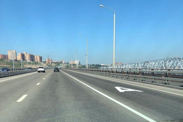Выделенные полосы для автобусов появились в Красноярске в прошлом году.
