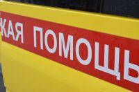 В Тюмени на объездной дороге автомобиль Lada Largus сбил пенсионерку
