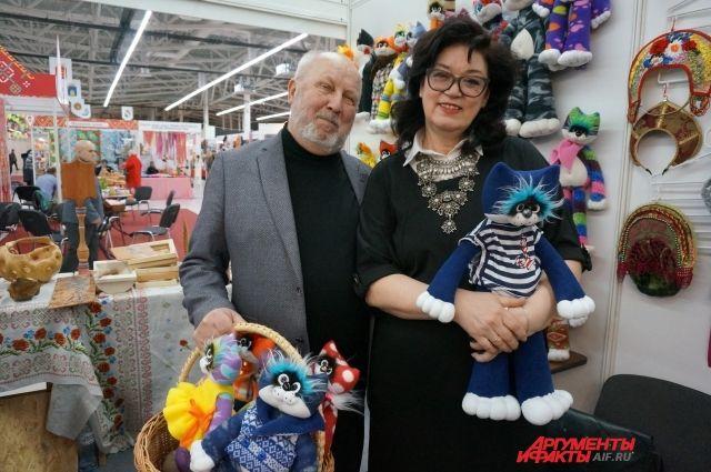 В творческой семье Удаловых уже десять лет рождаются авторские игрушки.