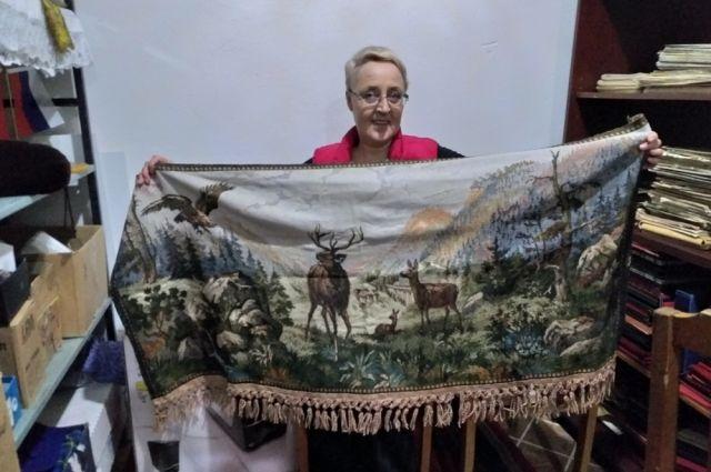 Гобеленовые коврики в середине прошлого века были практически в каждом доме.