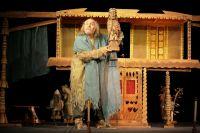 Вертепщик в театре кукол