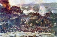 Деталь панорамы Франца Рубо «Оборона Севастополя» (1904).