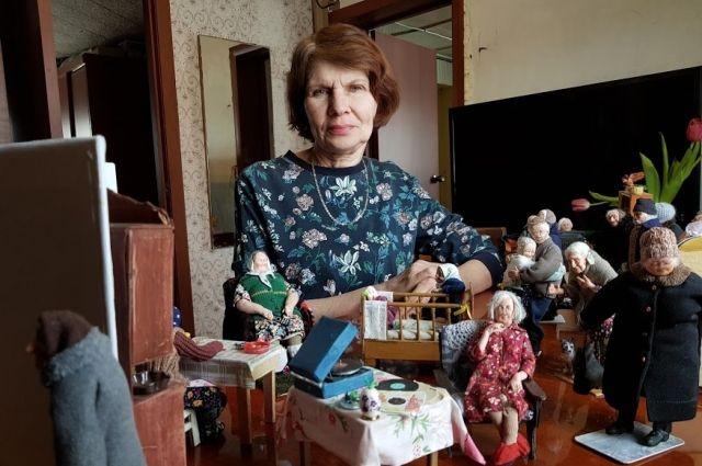 В каждую куклу Ирина вкладывает душу.