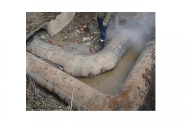В Тюмени прорвало тепломагистраль