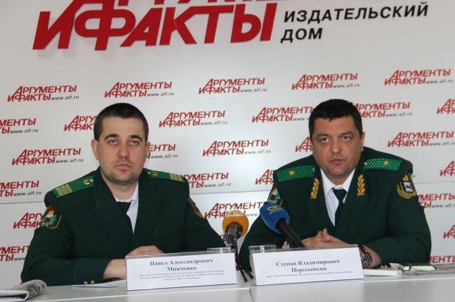 Павел Минченко и Степан Пересыпкин.