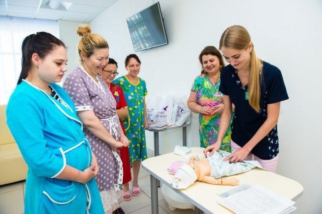 В областном перинатальном центре, который посетила Валентина Матвиенко, учат готовиться растить новое будущее Оренбуржья.