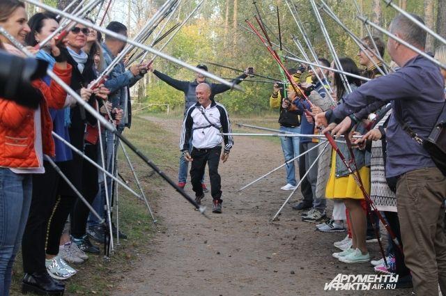Второй городской фестиваль скандинавской ходьбы состоится в субботу на базе спорткомплекса им. Сухарева.