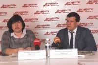 Виктория Фирстова и Максим Парфенов.