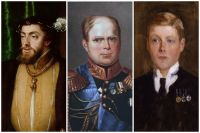 Карл V, Константин Романов и Эдуард VIII.