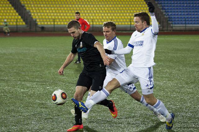 Тюменские футболисты встретятся с ФК